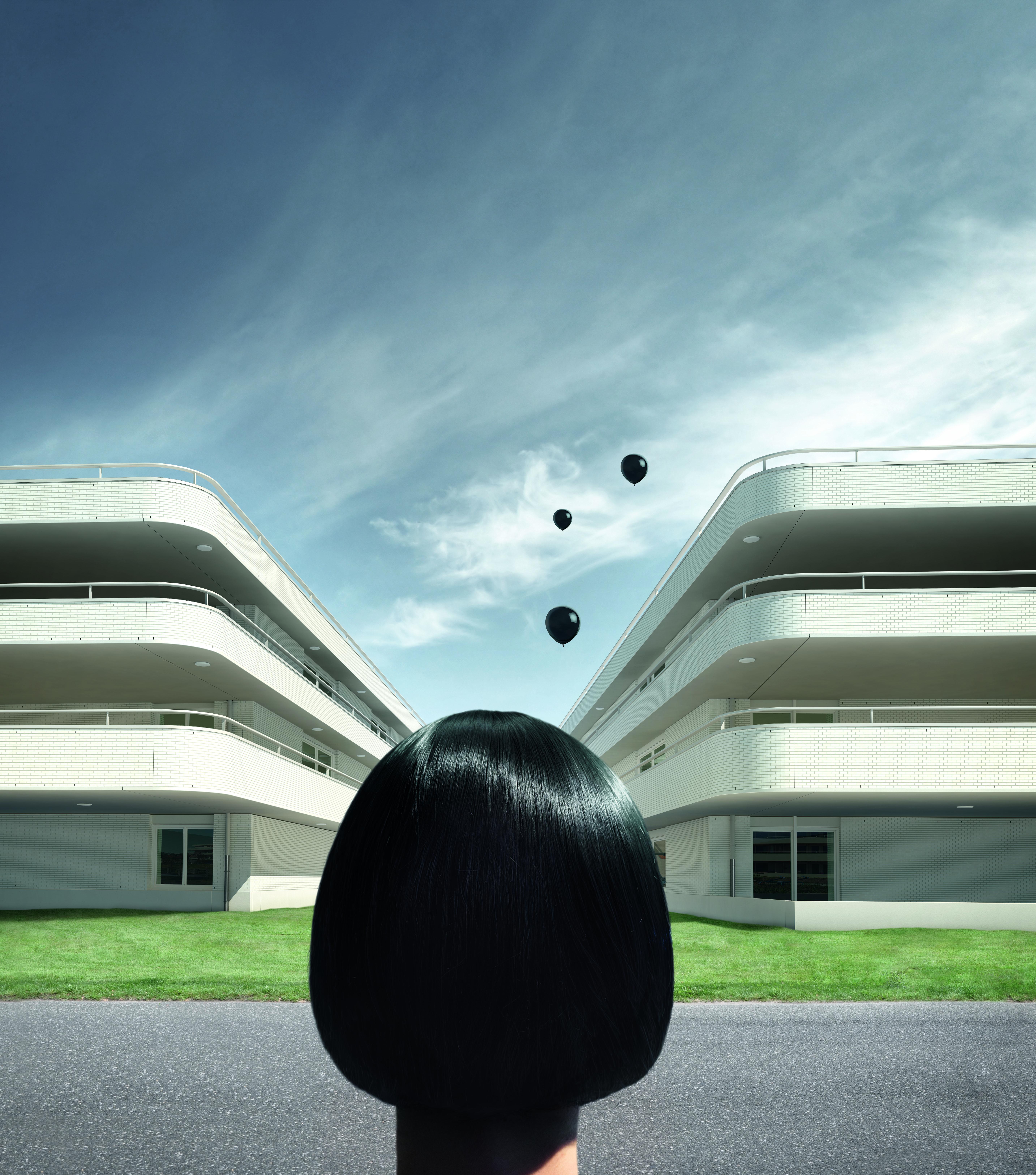 Surrealismus-Kampagne für Klinkerhersteller - 3D-Visualisierungen/CGI