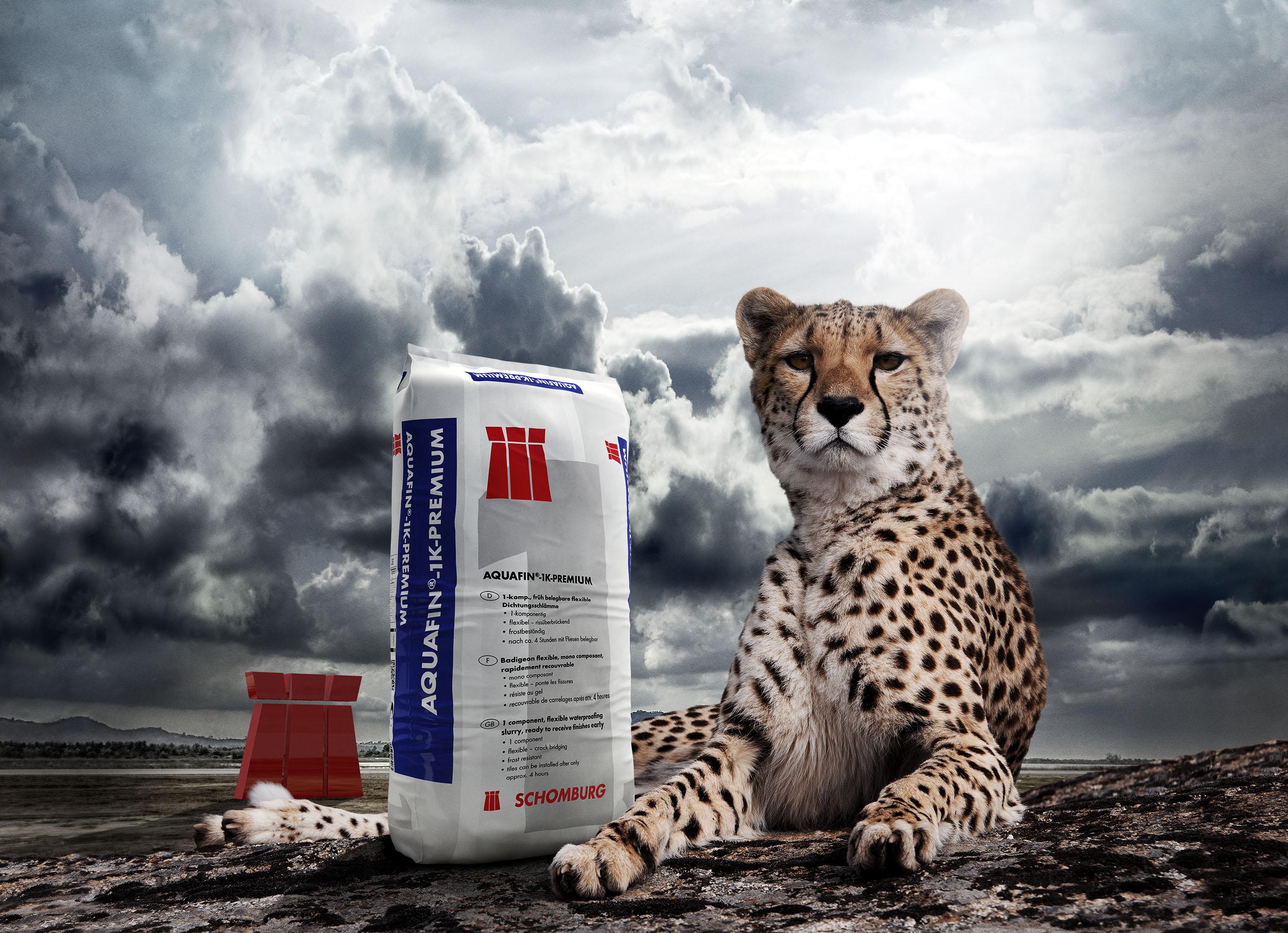 Motiv Aquafin, Anzeigenkampagne, Bauwerksabdichtung - 3D-Visualisierungen/CGI